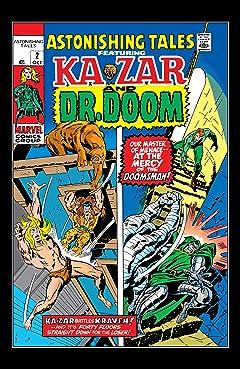 Astonishing Tales (1970-1976) #2