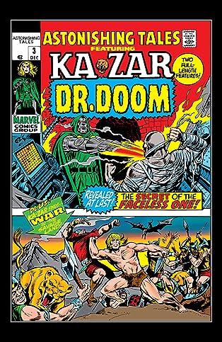 Astonishing Tales (1970-1976) #3