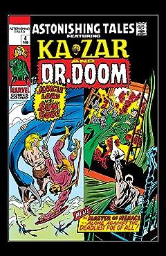 Astonishing Tales (1970-1976) #4