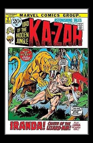 Astonishing Tales (1970-1976) #9