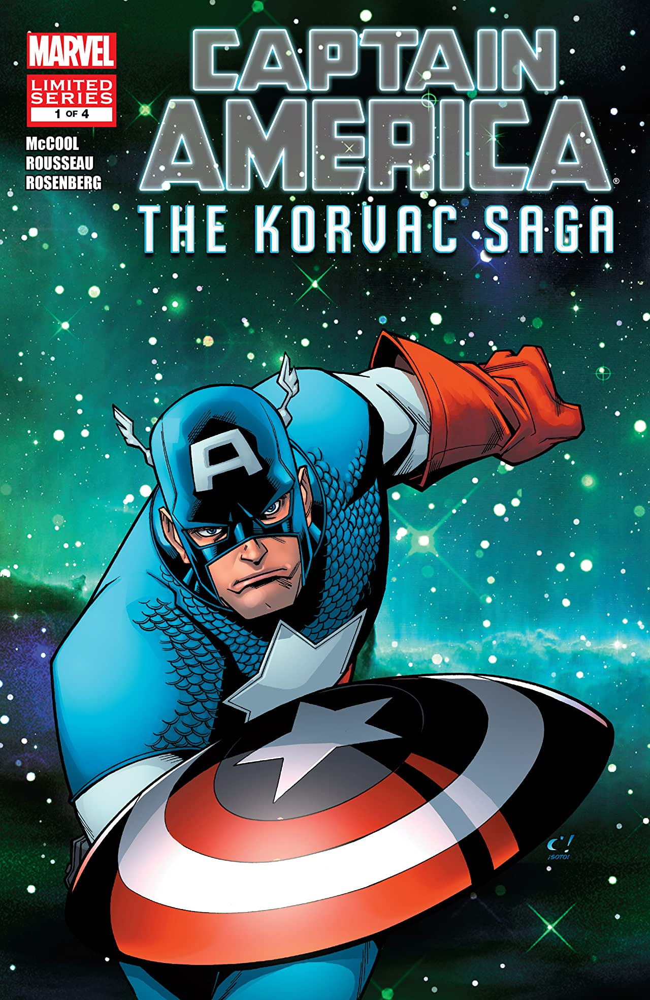 Captain America And The Korvac Saga (2010) #1 (of 4)