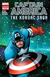 Captain America And The Korvac Saga (2010) #1 (of 4)