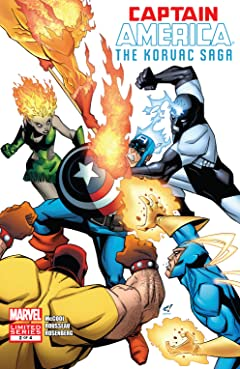 Captain America And The Korvac Saga (2010) #2 (of 4)