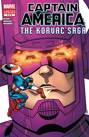 Captain America And The Korvac Saga (2010) #4 (of 4)