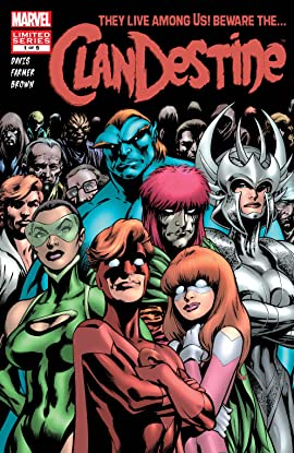 ClanDestine (2008) #1 (of 5)