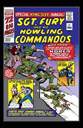 Sgt. Fury and His Howling Commandos (1963-1974) Annual #1