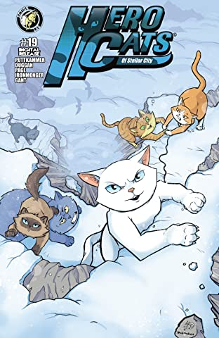 Hero Cats of Stellar City #19