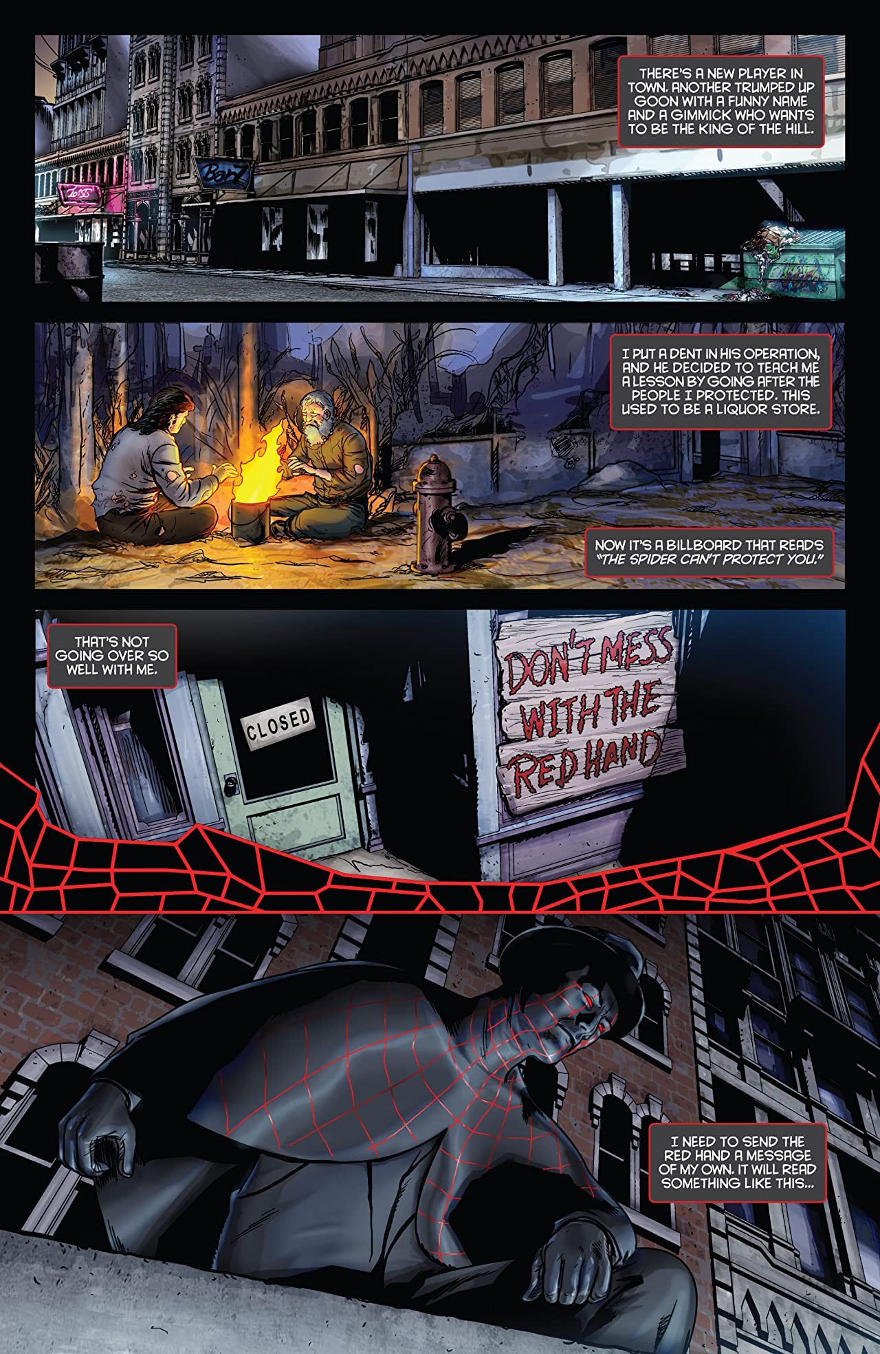 The Spider #16