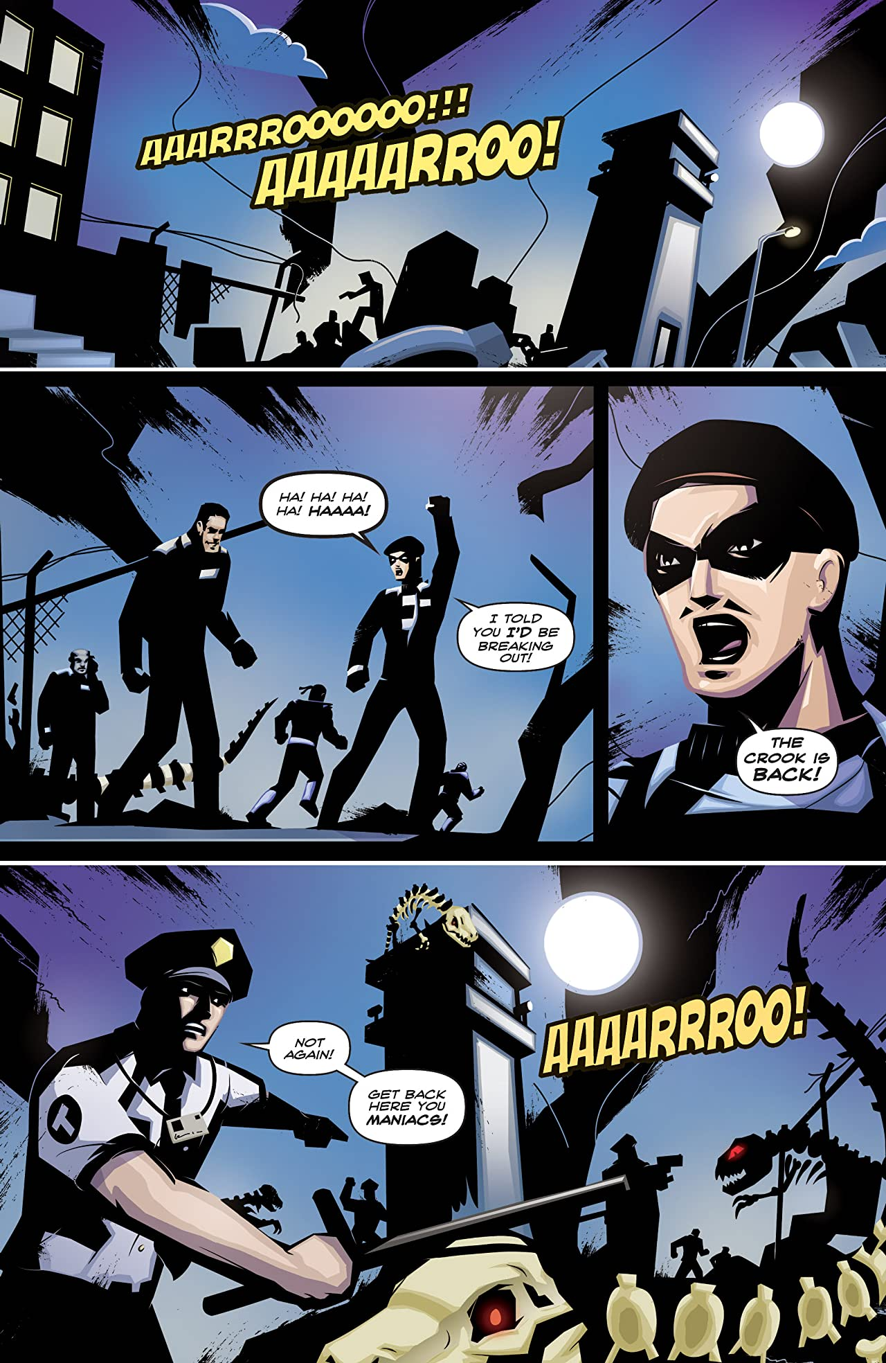 Hero Cats: Midnight Over Stellar City Vol. 2