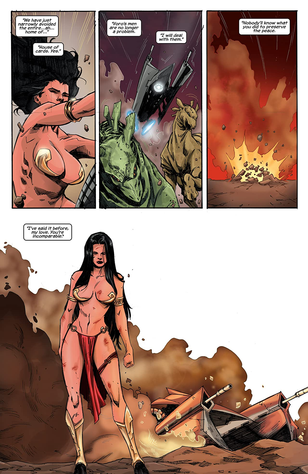Dejah Thoris and the Green Men of Mars #9 (of 12)