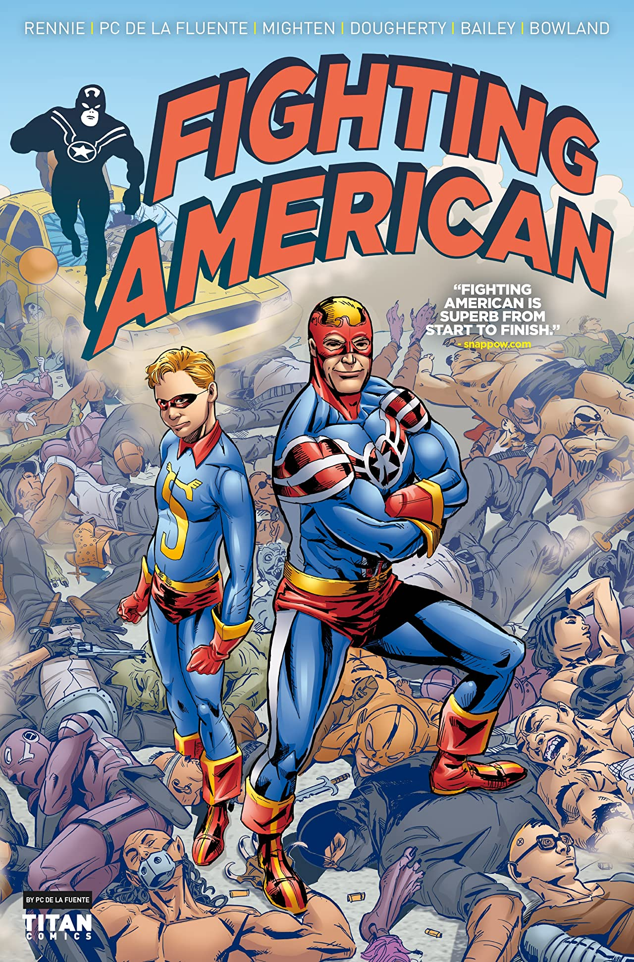 Fighting American #4