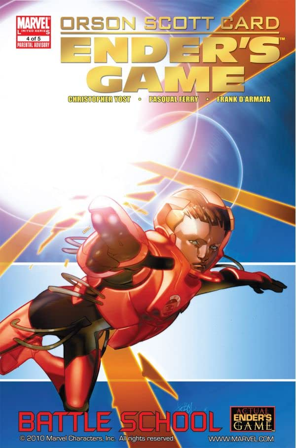 Ender's Game Book One: Battle School #4 (of 5)