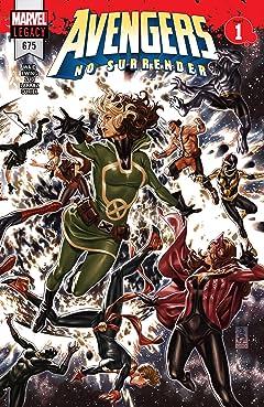 Avengers (2016-2018) #675