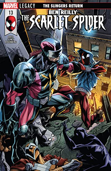 Ben Reilly: Scarlet Spider (2017-) #13