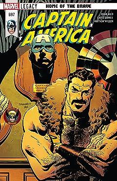 Captain America (2017-2018) #697