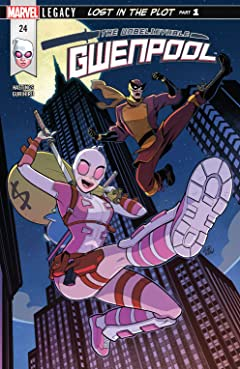 Gwenpool, The Unbelievable (2016-2018) No.24