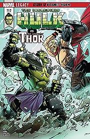 Incredible Hulk (2017-2018) #712
