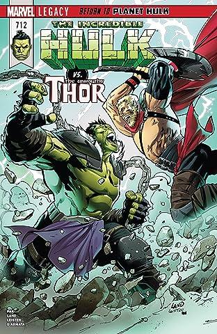 Incredible Hulk (2017-) #712