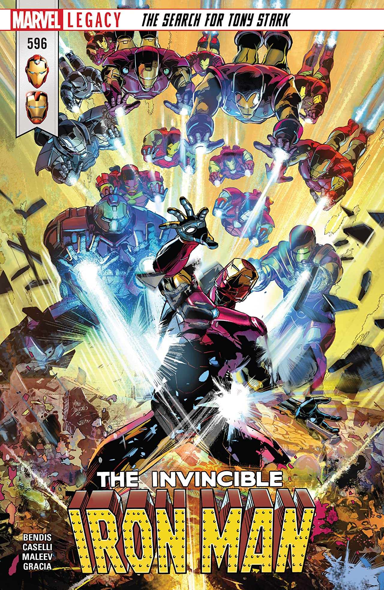 Invincible Iron Man (2016-) #596