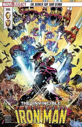 Invincible Iron Man (2016-2018) #596