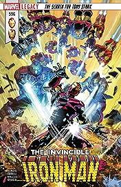 Invincible Iron Man (2016-) #596