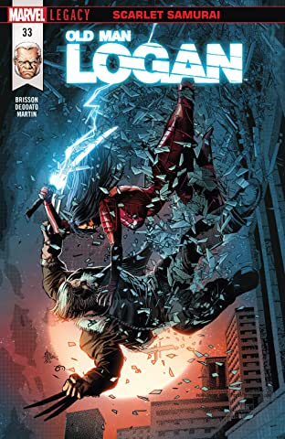 Old Man Logan (2016-2018) #33