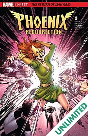 Phoenix Resurrection: The Return Of Jean Grey (2017-2018) #2 (of 5)