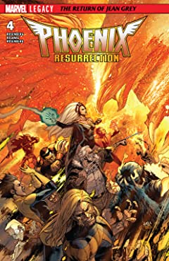 Phoenix Resurrection: The Return Of Jean Grey (2017-2018) No.4 (sur 5)