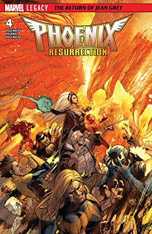 Phoenix Resurrection: The Return Of Jean Grey (2017-2018) #4 (of 5)