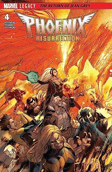Phoenix Resurrection: The Return Of Jean Grey (2017-2018) No.4 (sur 5)