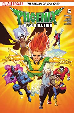 Phoenix Resurrection: The Return Of Jean Grey (2017-2018) No.5 (sur 5)
