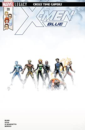 X-Men Blue (2017-2018) #20