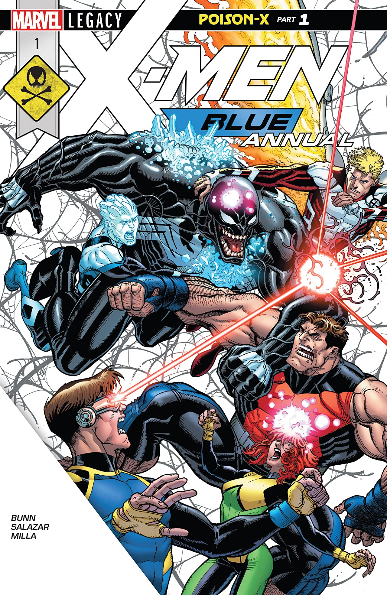 X-Men: Blue (2017-) Annual #1