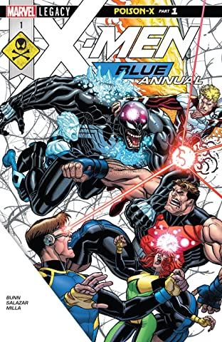 X-Men Blue (2017-2018) Annual #1
