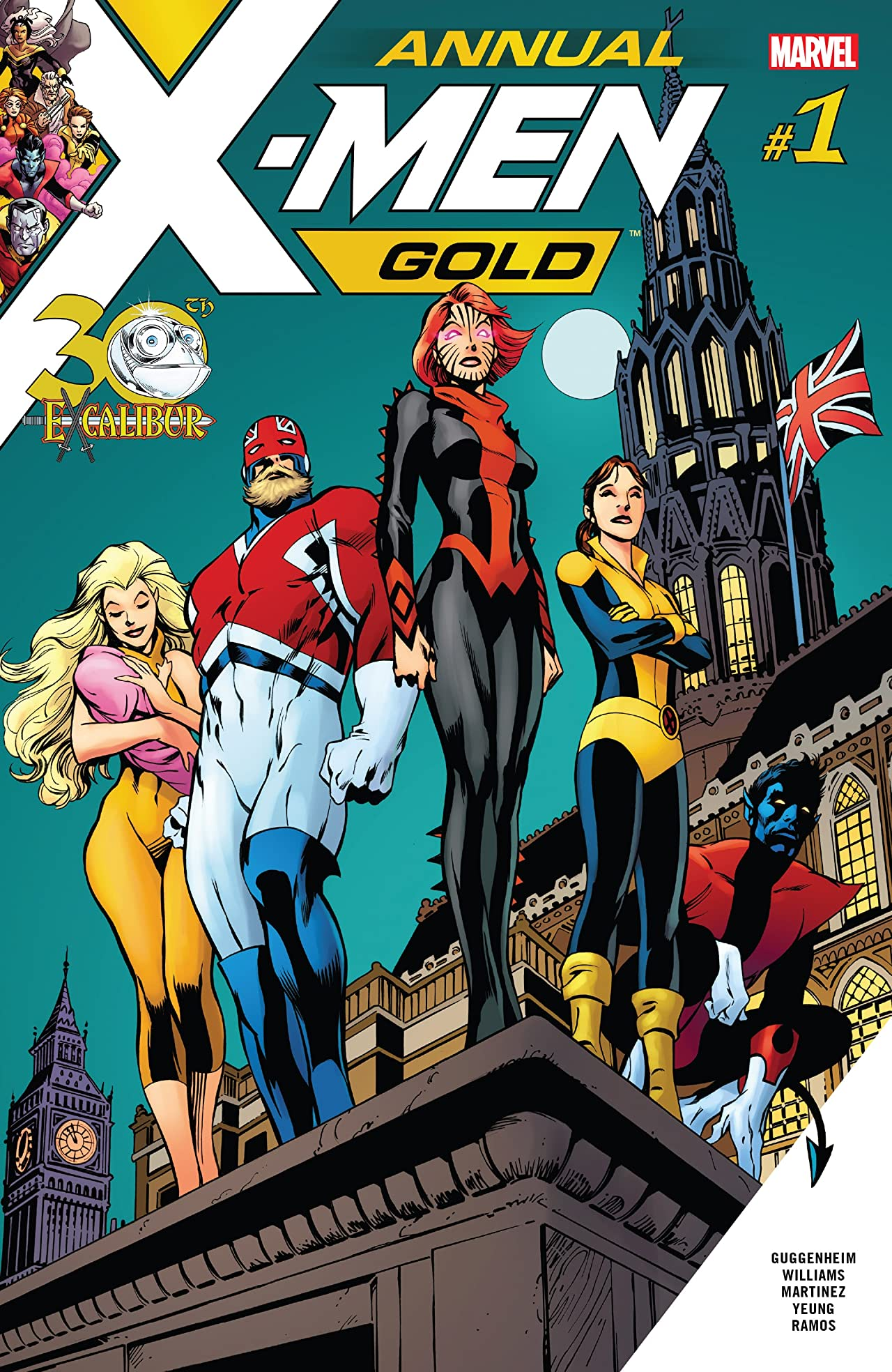 X-Men: Gold (2017-) Annual #1