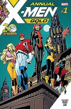 X-Men Gold (2017-) Annual No.1