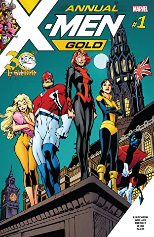 X-Men Gold (2017-2018) Annual No.1