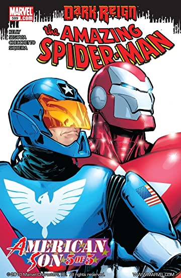 Amazing Spider-Man (1999-2013) #599