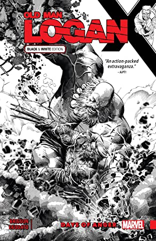 Wolverine: Old Man Logan Tome 6: Days of Anger - Black and White