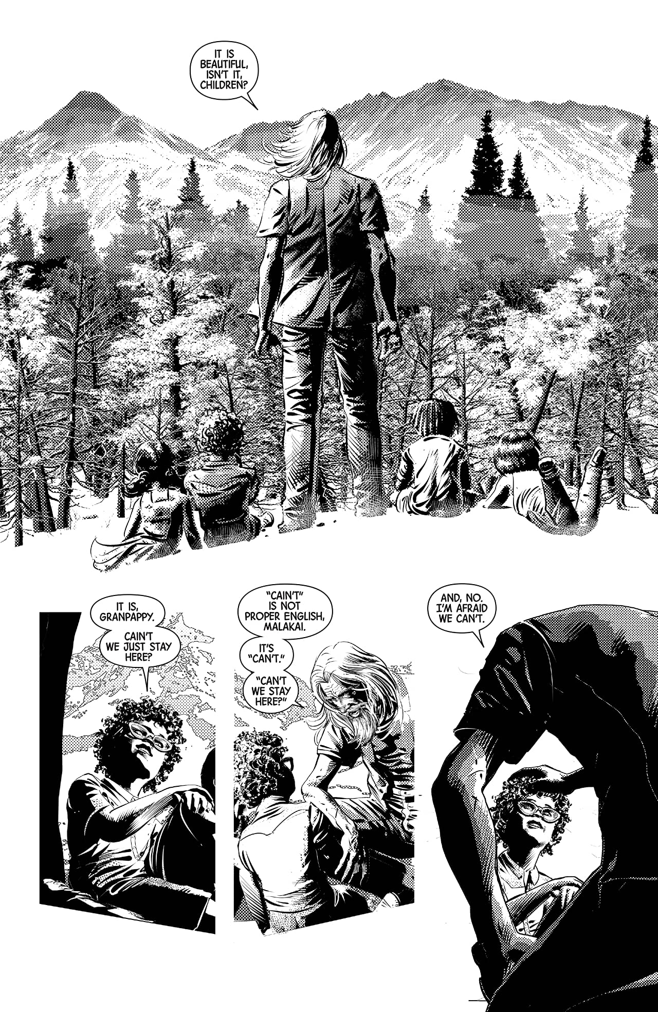 Wolverine: Old Man Logan Vol. 6: Days of Anger - Black and White