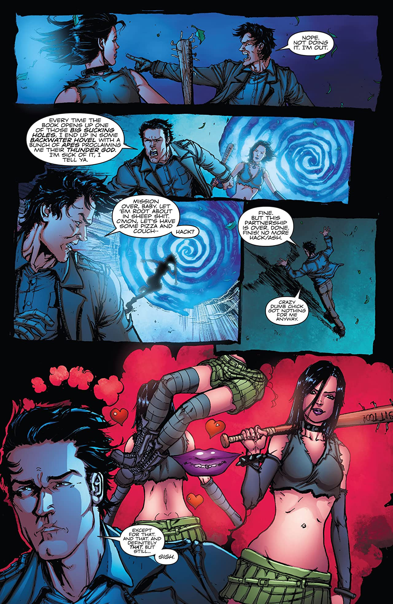 Army of Darkness vs. Hack/Slash #5 (of 6): Digital Exclusive Edition