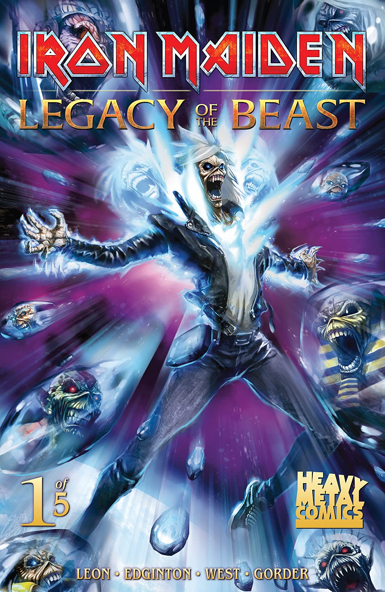 Iron Maiden: Legacy of the Beast No.1 (sur 5)