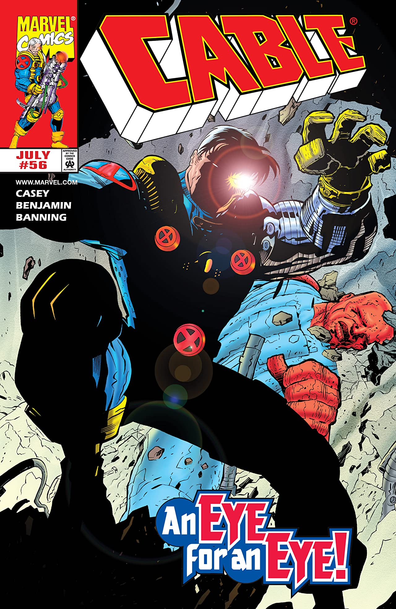 Cable (1993-2002) #56