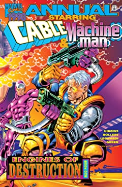 Cable & Machine Man Annual 1998 #1
