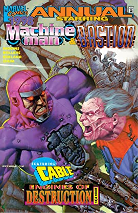 Machine Man & Bastion Annual 1998 #1
