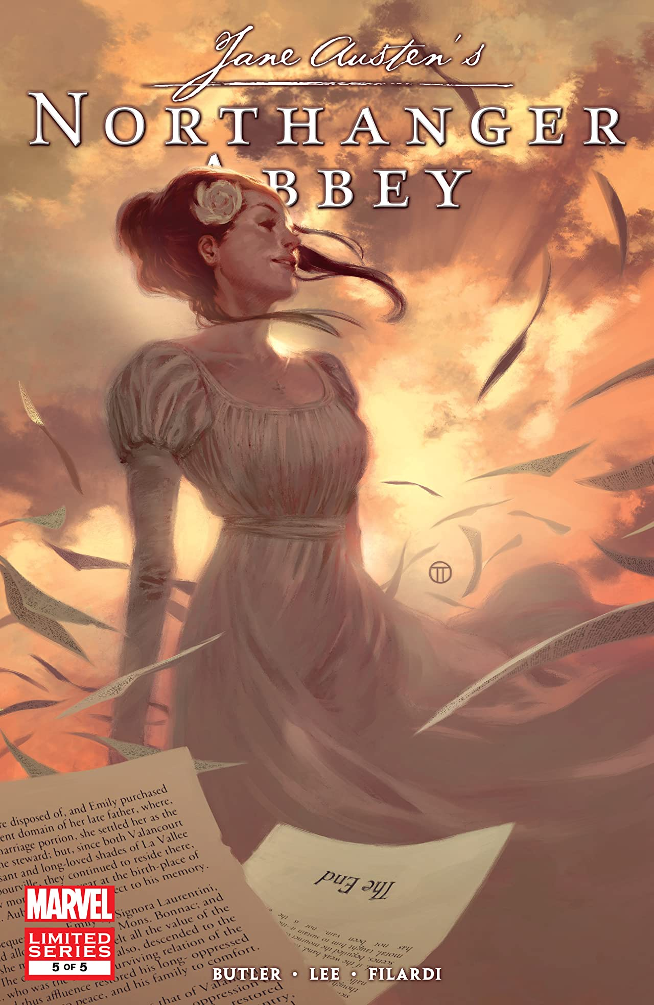 Northanger Abbey (2011-2012) #5 (of 5)