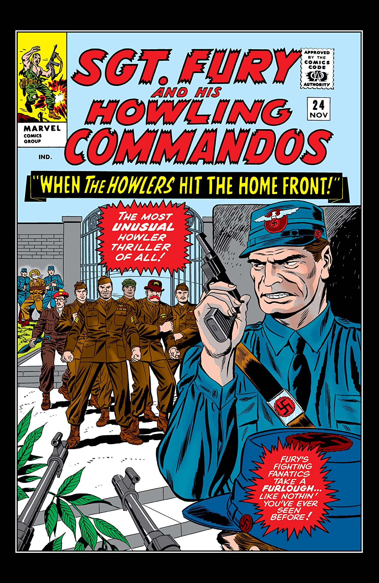 Sgt. Fury and His Howling Commandos (1963-1974) #24