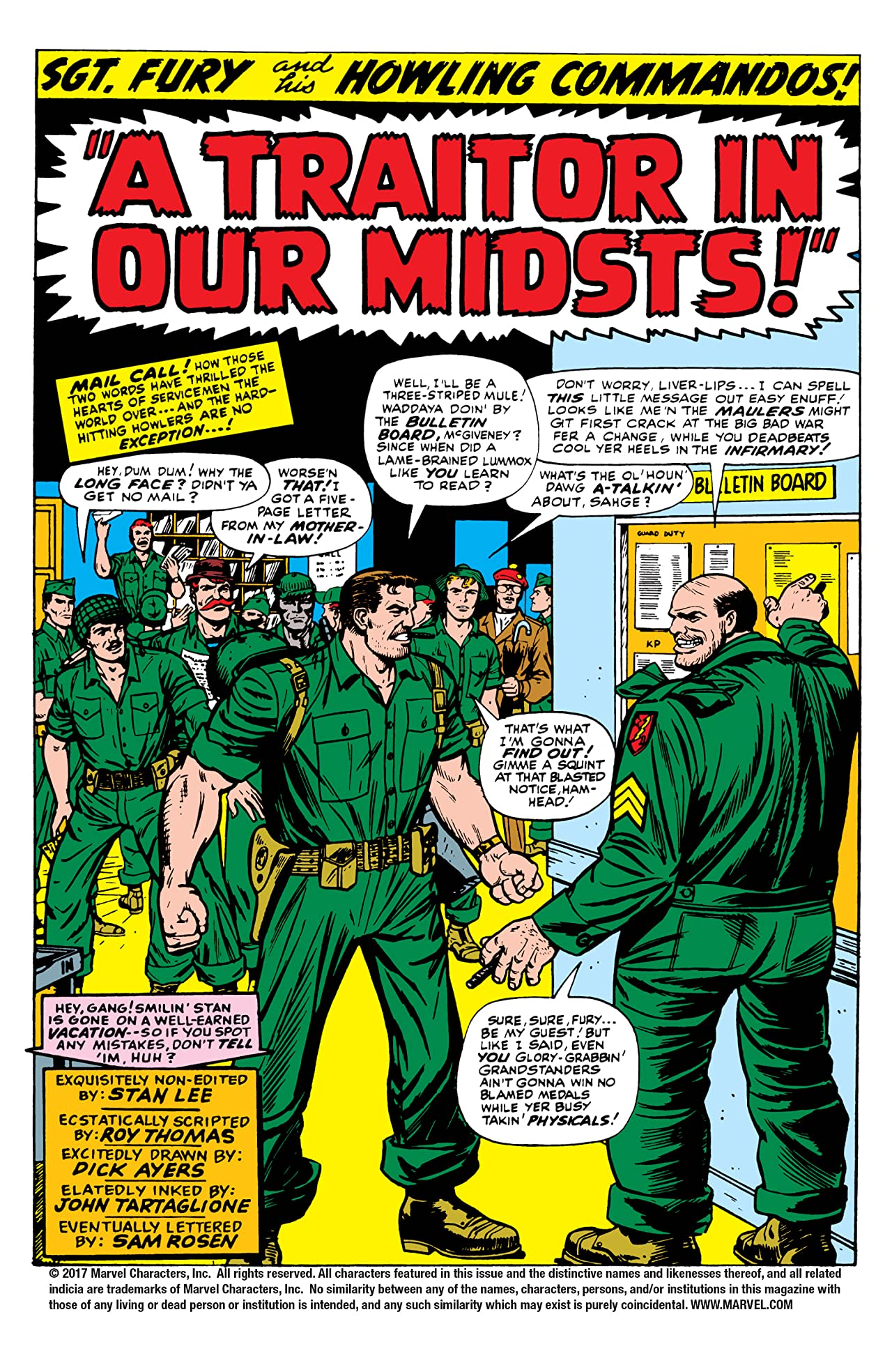 Sgt. Fury and His Howling Commandos (1963-1974) #32