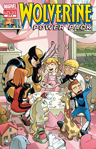 Wolverine and Power Pack (2008-2009) #2 (of 4)