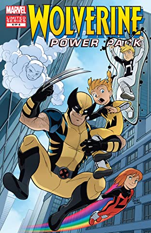 Wolverine and Power Pack (2008-2009) No.4 (sur 4)